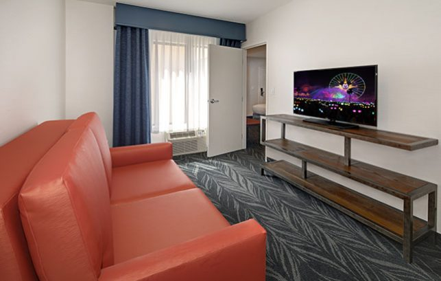 Family Suite Living Area