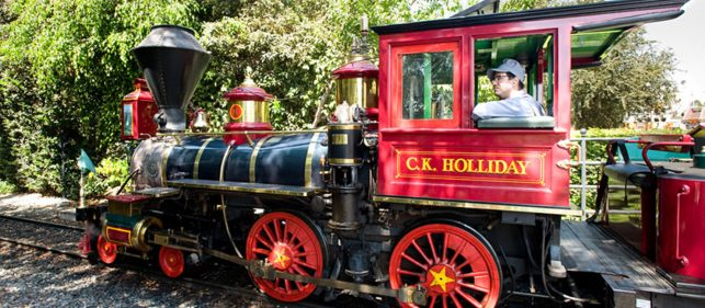 C.K. Holliday Train Ride at Disneyland®