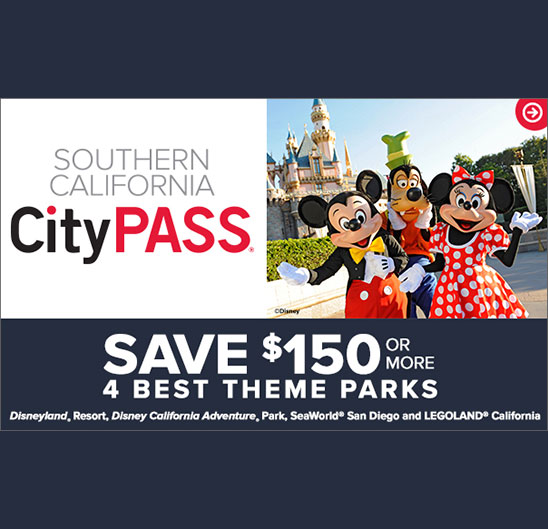 City Pass Banner Advertisement Disneyland®