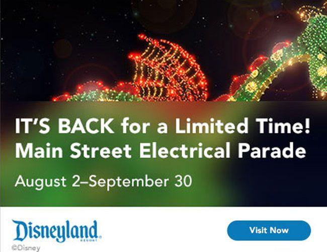 Disney Mainstreet Electrical Parade