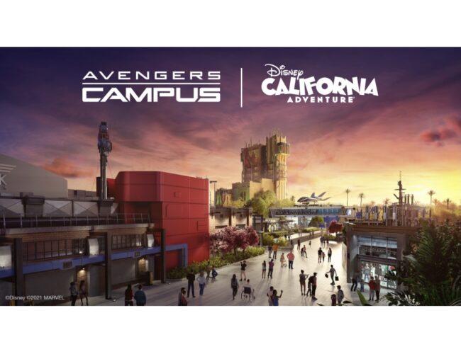 Avengers Campus Opens June 4, 2021
