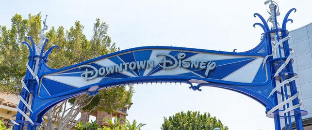 Downtown Disney Banner